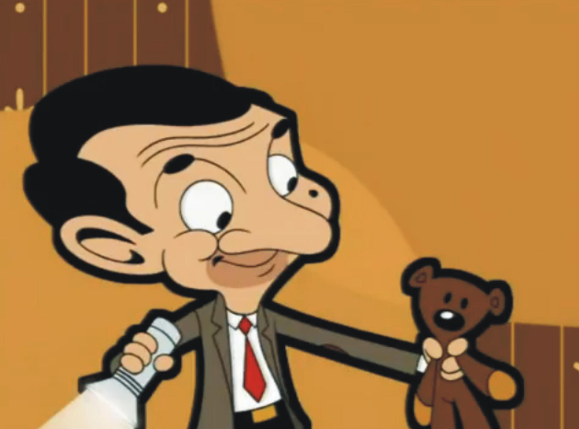 mr bean happy birthday teddy