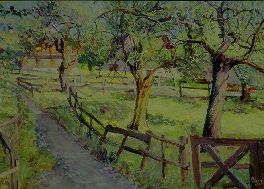 Landschaftsmalerei impressionismus  gross